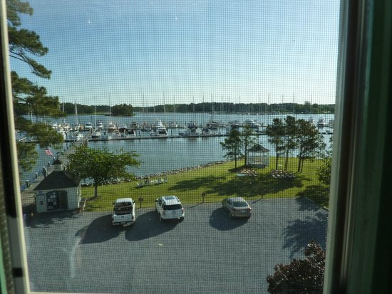 The Inn at Osprey Point : View from Escapade before wedding