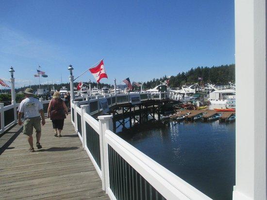 Roche Harbor Resort : The docks