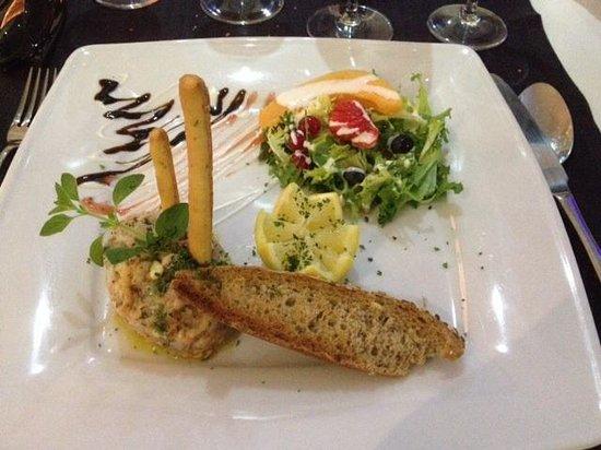 IL Milano DI Toto : Tartare de poisson : une tuerie