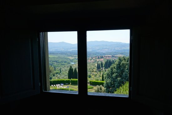 Villa Pitiana: View from room 12
