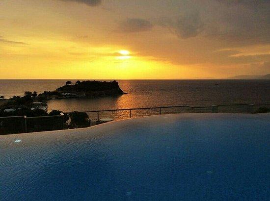 Lavista Boutique Hotel: O por do sol mais lindo que já vi