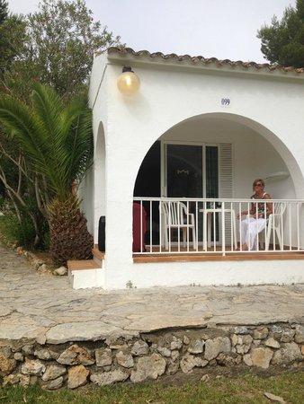 Club Hotel Tropicana Mallorca: onze kamer ( villa )