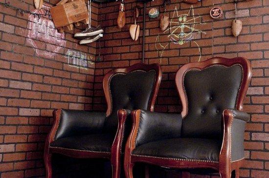 Admirable Shoe Shine Stand Picture Of El Bar Bero San Juan Creativecarmelina Interior Chair Design Creativecarmelinacom