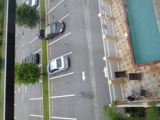 Comfort Inn & Suites Maingate South : View from rm 411
