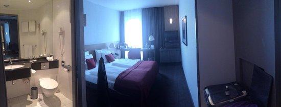 Mercure Hotel Hamburg Mitte: Kleines Zimmer. Großer Preis.
