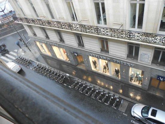 Adagio Paris Opera : VISTA DESDE LA VENTANA DE HOTEL ADAGIO ÓPERA