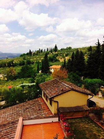 Bigallo Hostel: La vue à partir de l'intérieur