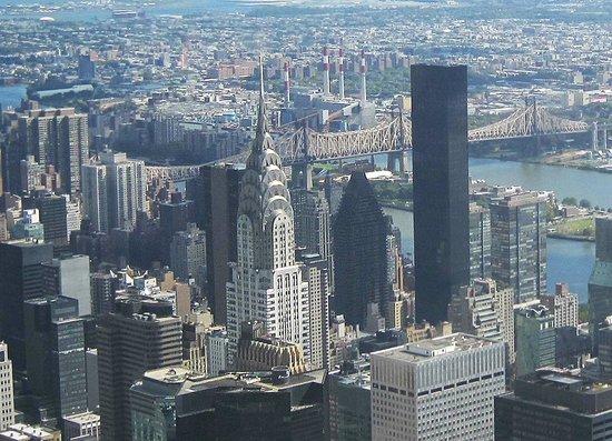 Chrysler Building : вид с Эмпайр Стейт Билдинга