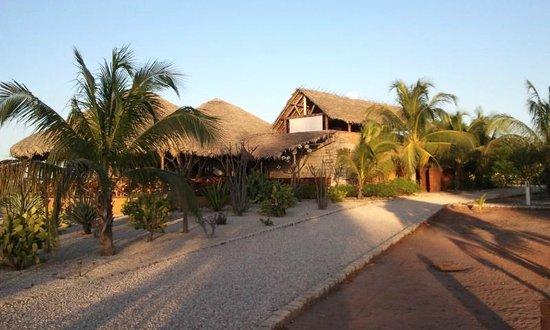 Antsanitia Resort : vue depuis le parc