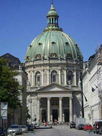Iglesia de Mármol (Iglesia de Federico): Iglesia de Mármol, Copenhague, Dinamarca.