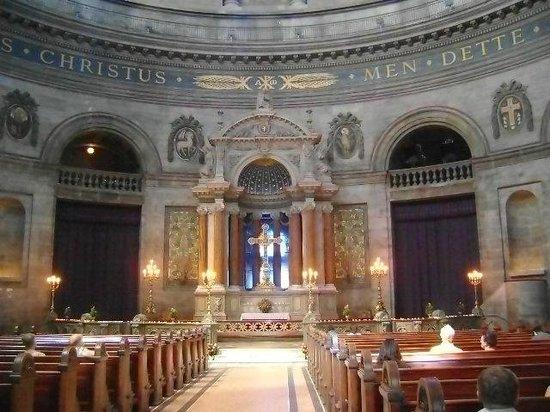 Frederikskirche (Marmorkirche): Iglesia de Mármol, Copenhague, Dinamarca.