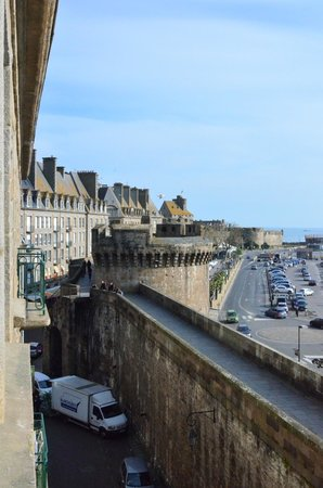 ibis Styles Saint-Malo Centre Historique : View from the room