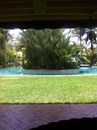 Lodge K : La piscine