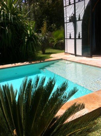 Lodge K Hotel & Spa: La tente avec piscine privée