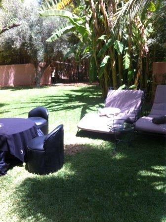 Lodge K Hotel & Spa: Le jardin privée