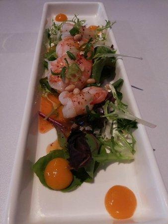 Umami Utrecht: Mango Prawn salad - delicious!
