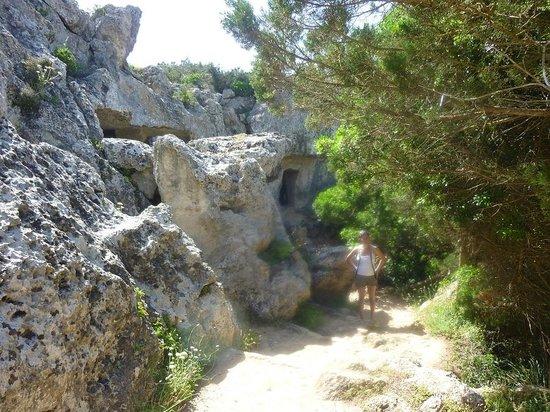 Coves de Cala Morell : Cove of Morell