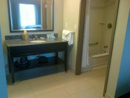 Hampton Inn & Suites by Hilton St. John's Airport: Bathroom