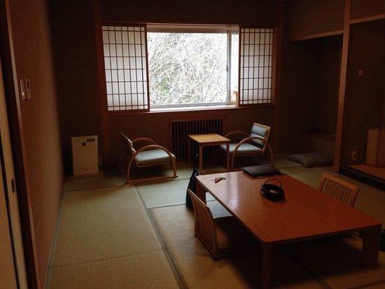 Jozankei Daiichi Hotel Suizantei: 落ち着く部屋