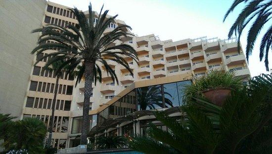 IFA Dunamar Hotel: Widok z basenu