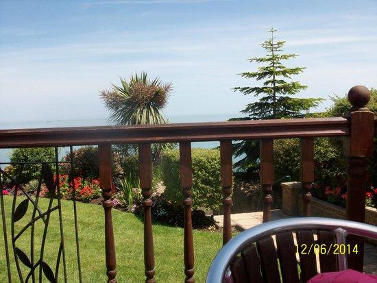 Deck Tea Gardens at Carlton Hotel: views