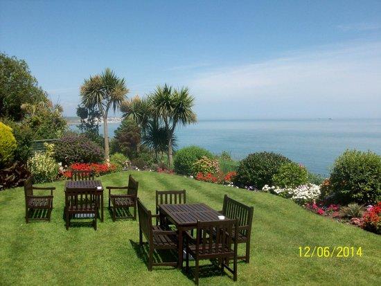 Deck Tea Gardens at Carlton Hotel: Beautiful views