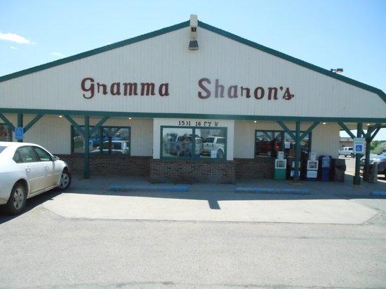 Gramma Sharon's Family Restaurant: Store front
