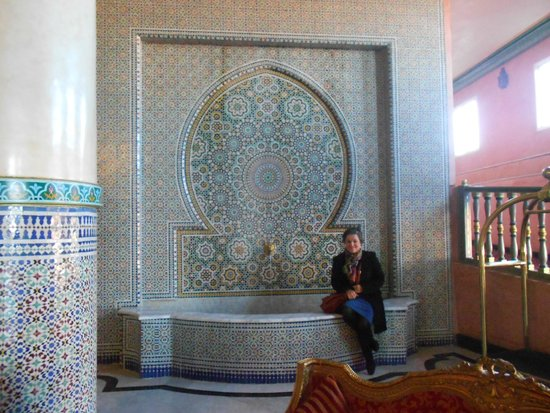 Ryad Mogador Gueliz: Hotel e áreas