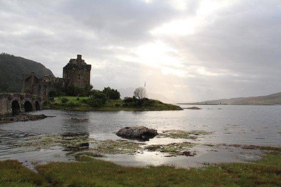 Eilean Donan Castle : Al atardecer