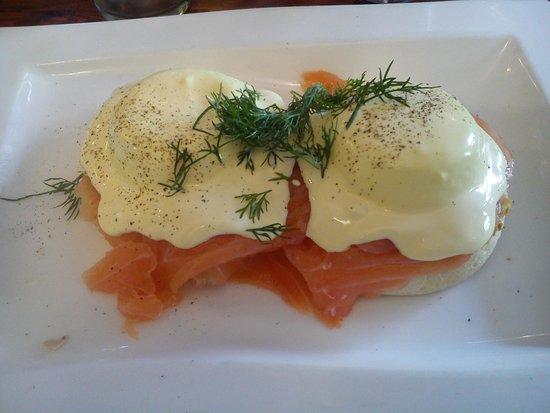 Greenwoods : Huevos con salmón