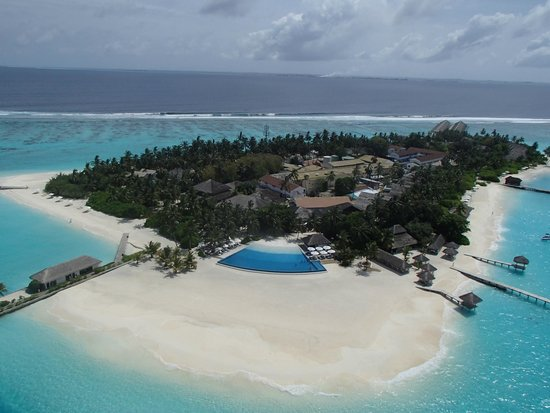 Velassaru Maldives : Island from Above