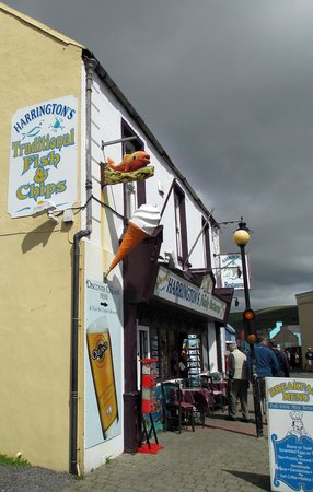 Harrington's a great place for fish 'n' chips in Dingle