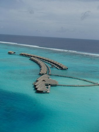 Velassaru Maldives : Villas from Above