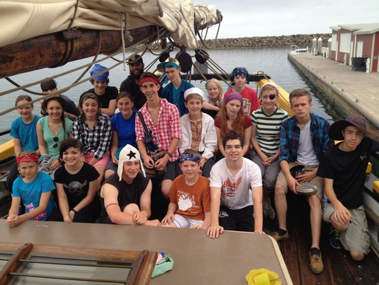 Dana Point, Kalifornien: Our students on the three day tall ship educational experience. It was fabulous!