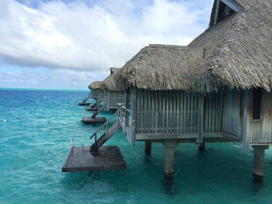 Conrad Bora Bora Nui : View from our room
