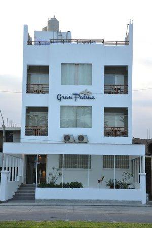 Hotel Gran Palma: facade de l'hôtel
