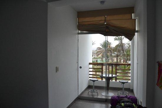 Hotel Gran Palma: balcon de la chambre