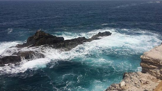 Monumento Natural de Ajuy: Views across the sea