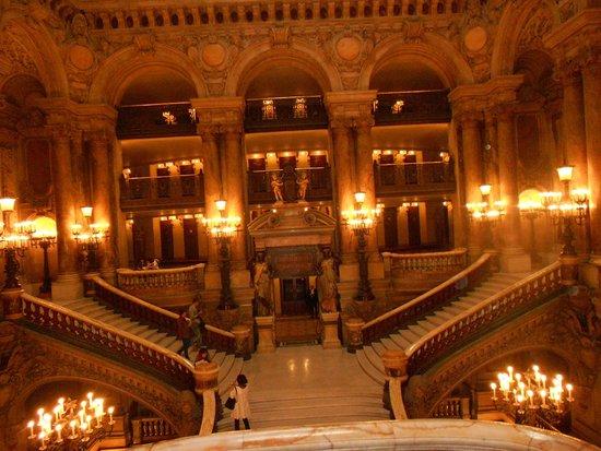 Opéra Garnier : ESCALINATAS ÓPERA GARNIER