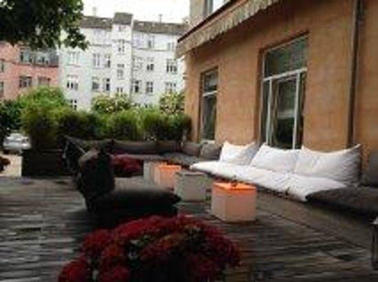 Avenue Hotel Copenhagen: External courtyard