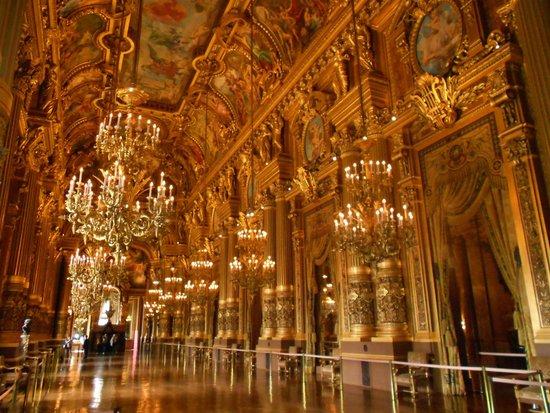 Opéra Garnier : SALA DE RECEPCIONES DE LA ÓPERA