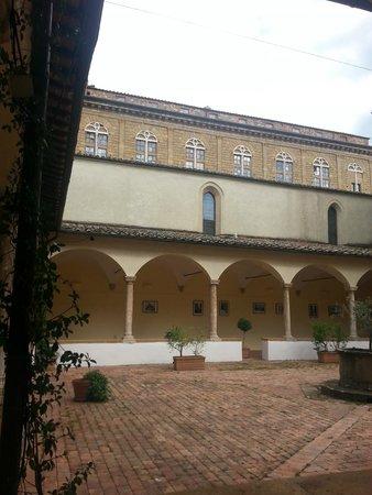 Il Chiostro di Pienza: courtyard