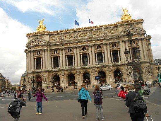 Opéra Garnier : FACHADA EXTERIOR ÓPERA GARNIER