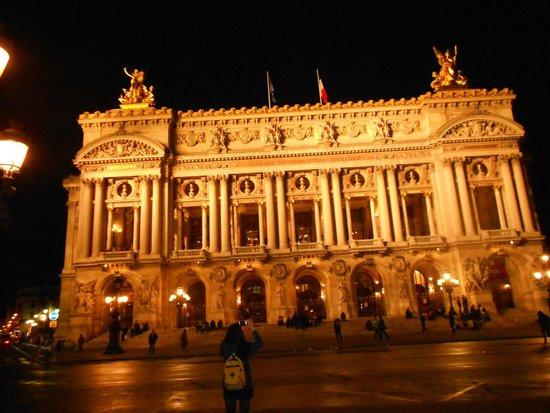 Opéra Garnier : ÓPERA GARNIER DE NOCHE
