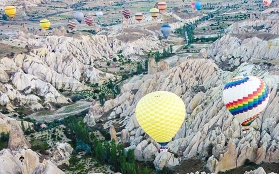 Turkiye Balloons: Hot air balloon flight over Goreme, Turkey