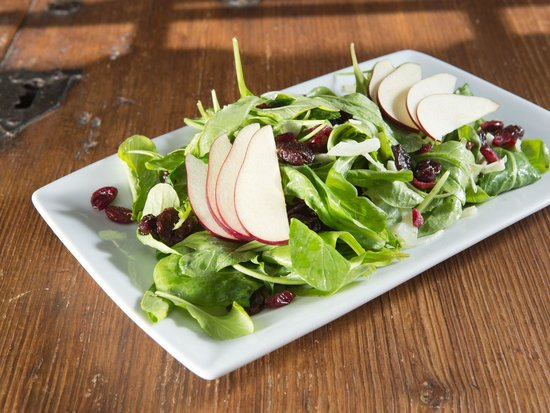 What a Dish Cafe & Catering : Pear and Blue Cheese Salad