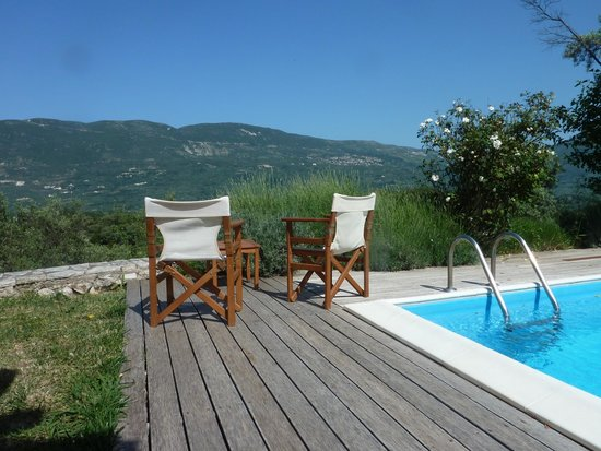 Monodentri Wooden & Stone Traditional Villas: great view