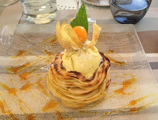 Auberge De L'ecole : A delicious modern twist to tarte tatin