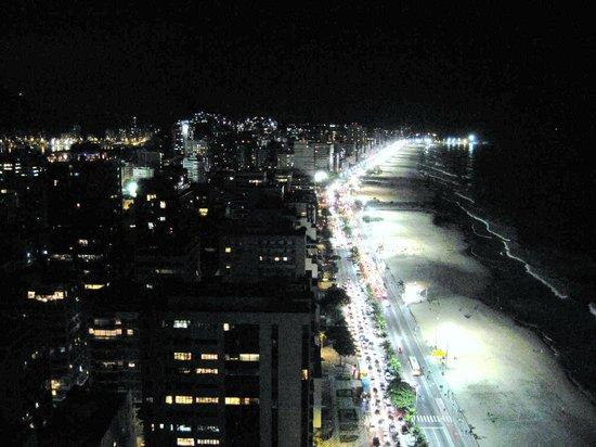 Hotel Marina Palace Rio Leblon: View from hotel rooftop