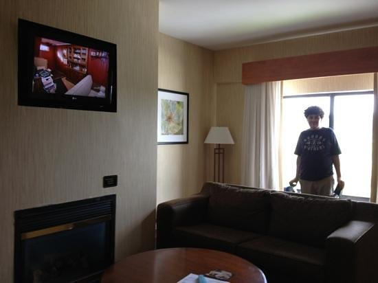 Holiday Inn Express Boone: living area
